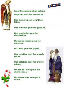 La Saint-Nicolas dans Comptines, chansons et poèmes Chanson-Saint-Nicolas-229x300